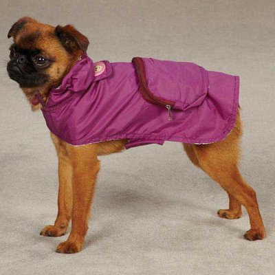 East Side Collection ZM3589 20 14 Monkey Business Stowaway Jacket for Dogs, Large, Tiff