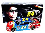 AUTOGRAPHED 2015 Jeff Gordon #24 Axalta Racing RETRO RAINBOW WARRIOR (Bristol Paint Scheme) Final Season Signed Lionel 1/24 NASCAR Diecast Car with COA (#4345 of only 5,617 produced!)