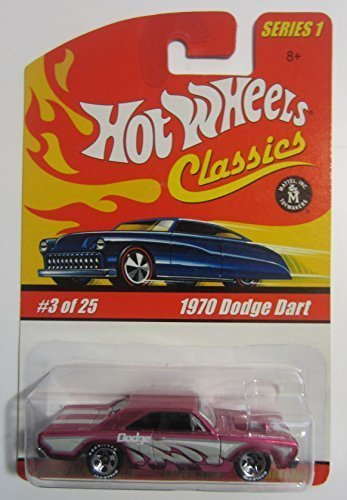 1970 Dodge Dart Hot Wheels Classics Series 1 - Magenta 3 of 25 by Hot Wheels