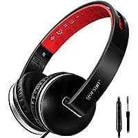 Over Ear Headphones, Lightweight Foldable Headphones with...
