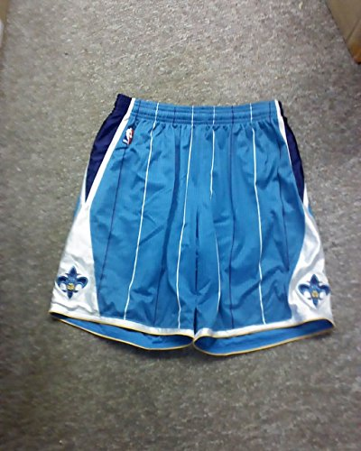 - Player 17 New Orleans Hornets Game Worn Shorts