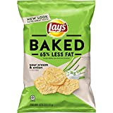 Lay's Oven Baked Sour Cream & Onion Flavored Potato Crisps, 6.25 Ounce