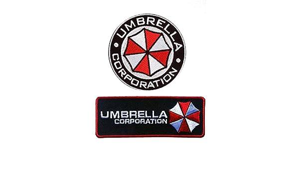 Redondo y de servicios de seguridad paraguas Corp - Resident Evil USS disfraz de Umbrella Corporation parche: Amazon.es: Juguetes y juegos