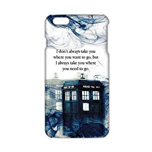 Evil-Store Doctor Who police box 3D Phone Case for iPhone 6 plus
