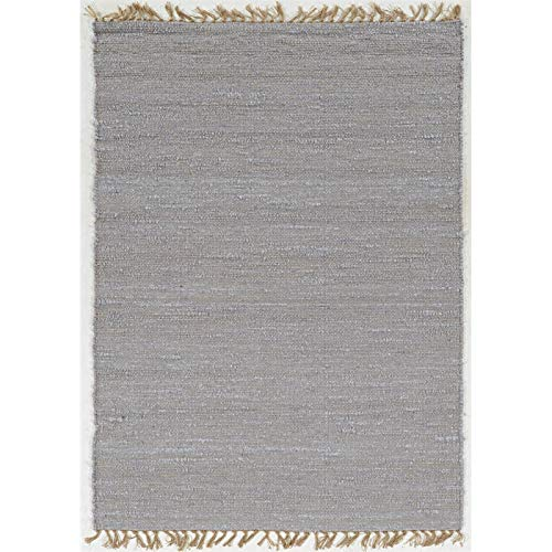 Linon Woven Berber Loop 3906LILAC Accent Rug 1FT 10IN 2FT 10IN ()
