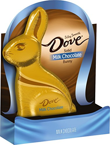 Dove Silky Smooth Milk Chocolate Solid Easter Bunny Pack of 2