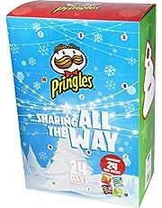 Pringle S 24 dagen adventskalender 24 x 40 gram vrolijk kerstfeest