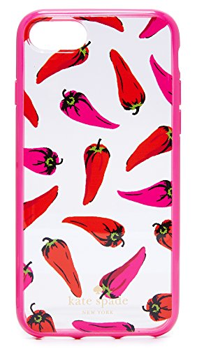 - Kate Spade New York Hot Pepper iPhone 7 / 8 Case, Clear Multi, iPhone 7