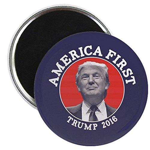 CafePress - America First - Donald Trump - 2.25