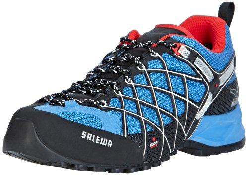 SALEWA MS WILDFIRE GTX 00-0000063302 - Zapatillas de montaña para hombre Azul (Blau (Davos/Flame 8492))