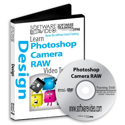 Software Video Learn Adobe Photoshop CAMERA RAW CS6 Training DVD Sale 60% Off training video tutorials DVD Over 12 Hours of Video Tutorials Training