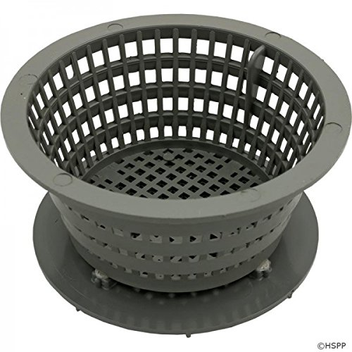 (Waterway Plastics 500-2687 Low Profile Dyna-Flow II Basket Assembly Filter44; Gray)