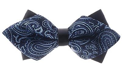 Man of Men - Premium Diamond Bowties - Paisley Bow Ties
