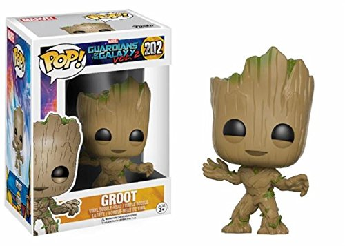 Funko Pop Movies: Guardians Of The Galaxy 2 Toddler Groot Toy Figure Icon