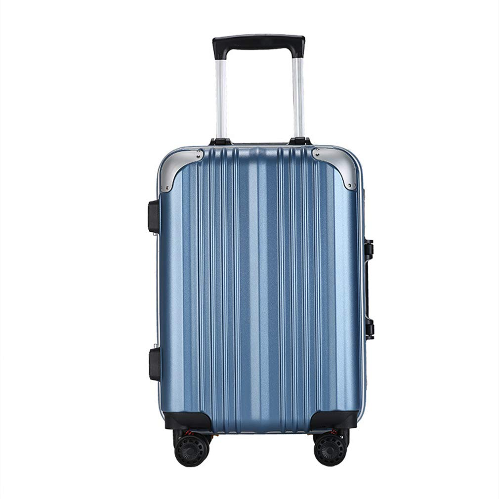 メンズレディースボーディングスーツケース衝撃吸収ユニバーサルホイール20/24インチスーツケースパスワードロック傷防止付きトロリーケース(fenmei)   B07QYLM9CB