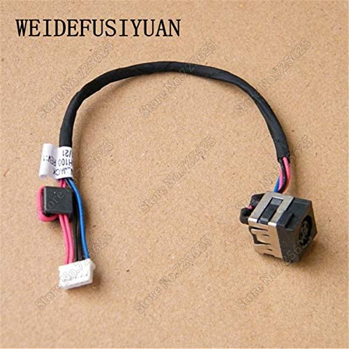 Computer Cables DC Power Port Jack Socket for Dell Latitude E5530 Power Jack with Cable 171XT DC30100H100 Cable Length: 17CM
