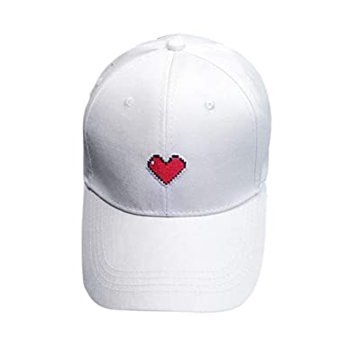 Byqny Lazo del Amor del Bordado Gorra de Béisbol para Mujer al Aire Libre Sombrero de Sol para la Primavera el Otoño y el Invierno: Amazon.es: Ropa y ...
