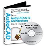 Software Video Learn AUTODESK AutoCAD 2013 Training DVD Sale 60% Off training video tutorials DVD Over 8 Hours of Video Training