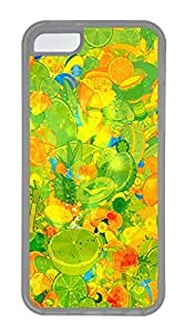 LJF phone case iphone 6 4.7 inch Cases - Wholesale Summer Cool TPU Transparent Cases Personalized Design Colorful Oranges
