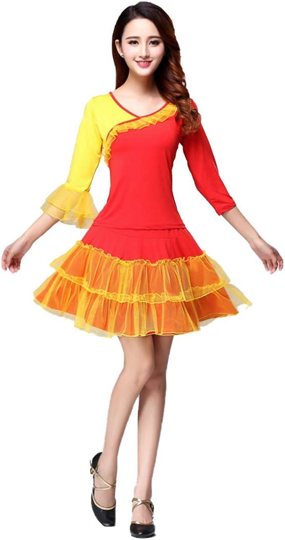 Yefree Conjunto de Danza Cuadrada para Mujer Danza Clásica Danza ...