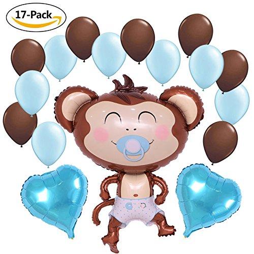 monkey baby shower balloons - 8