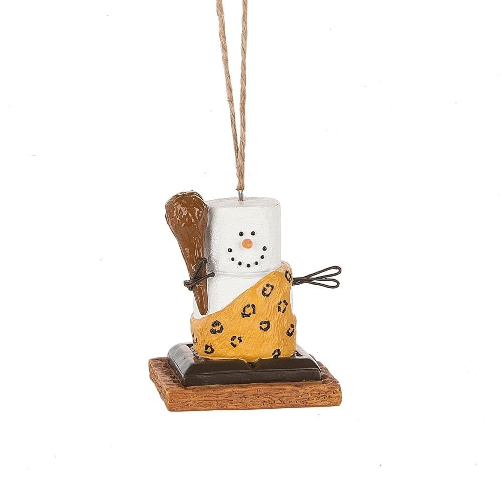 Amazon.com: S\'mores Original 2017 Caveman Ornament: Home & Kitchen