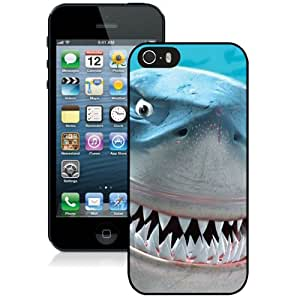 Beautiful And Unique Designed Case For iPhone 5 With Finding Nemo Bruce Shark Phone Case