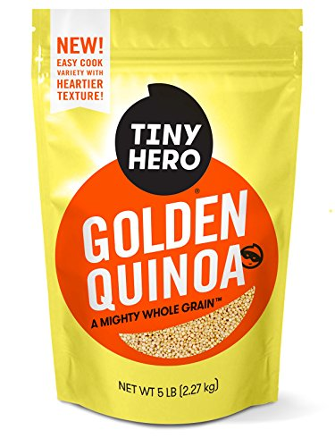 Tiny Hero Golden Quinoa, 5 lb. Bag, Non-GMO Verified, Canadi