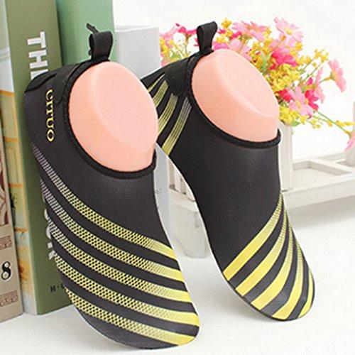 Flying Hedwig Unisex corte bajo zapatos de la tobillo de piel Para el fitness Yoga Running amarillo