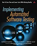Implementing Automated Software Testing 1st Edition