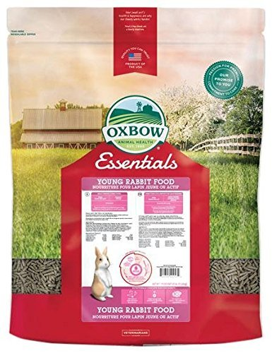 Oxbow Animal Health Bunny Basics Essentials Young Rabbit Food, 25-Pound