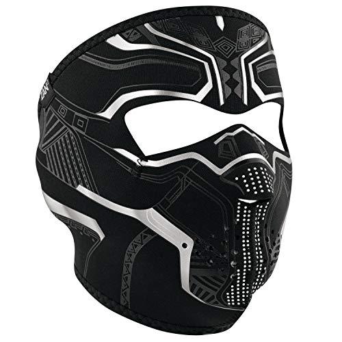 (ZANheadgear ZanHeadgear Neoprene Full Face Mask Protector, Black)