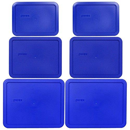 Pyrex  7212-PC 11 Cup  7211-PC 6 Cup  7210-PC 3 Cup Cobalt B