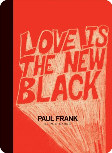 Paul Frank: Love Is the New Black: 30 Postcards