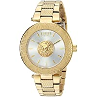 Versus by Versace Women's 'Brick Lane' Quartz Stainless Steel and Gold Plated Casual Watch(Model: VSP212517)