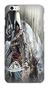2014 waterproof dustproof New Style Popular Assassin's Creed fashionable Design PC Plastic phone Case for iphone 6 Plus