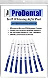 ProDental Teeth Whitening Gel Syringe Refill 8 Pack, 35% Carbamide Peroxide, 48 Treatments - Faster Results Than Tooth Whitening Strips, Pen, Powders and Toothpaste. Safe for Sensitive Teeth