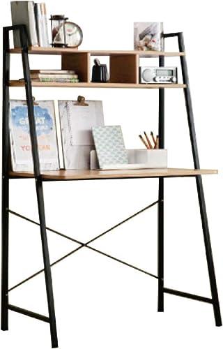 Offex Home Office Black Ladder Steel Frame Desk - the best modern office desk for the money