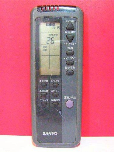 サンヨー エアコンリモコン RCS-WR3B(K) B00DTAP3F0