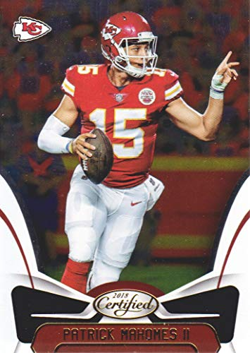 2018 Certified Football #30 Patrick Mahomes II Kansas City Chiefs by Certified
