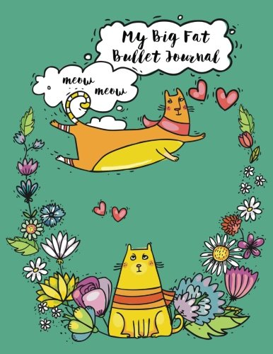 Download My Big Fat Bullet Journal For Cat Lovers Funny Flying Cartoon Cat 2: Jumbo Sized Graph Design Bullet Notebook Journal - 300 Plus Numbered Pages With ... (Jumbo Graph Journal Series 3) (Volume 37) pdf