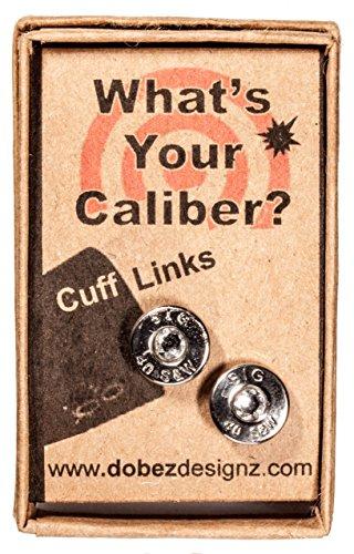 .44 Magnum Winchester-Western Palladium Plated Ear Posts W-W