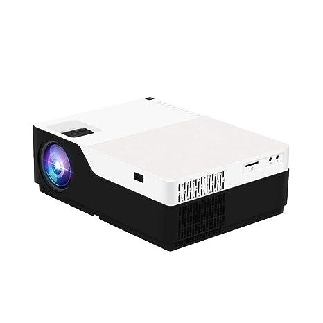 Mini Proyector Proyector Portátil con Lúmenes Altos Soporte 1080P ...