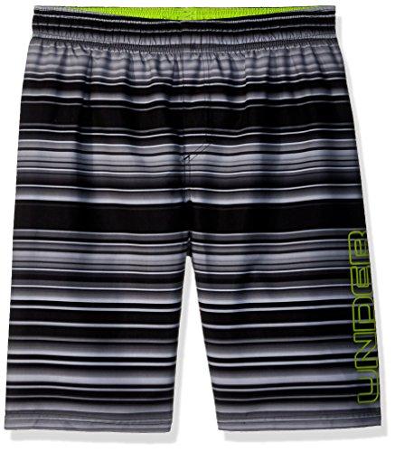 - Under Armour Boys' Little Volley Swim Trunk, Black Stripe, 6