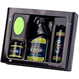 Cilajet Care Kit - Auto Paint Protection Kit: Includes Car-Shampoo, Auto Quick-Shine, Car Gel-Wax, and 2 Microfiber Towels