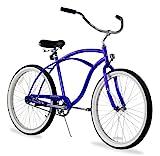 Firmstrong Urban Man Single Speed Beach Cruiser Bicycle, 26-Inch, Royal Blue
