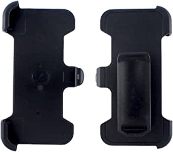 KIKO Wireless 2876819 Belt Clip Holster Replacement for Otterbox Defender Cover for iPhone 5, 5S and 5C - Black