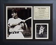Legends Never Die Lou Gehrig Batting Framed Photo Collage, 11 x 14-Inch