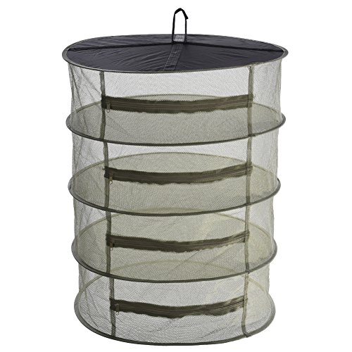 Multifunctional 4-Layer Hanging Drying Rack Foldable Outdoor