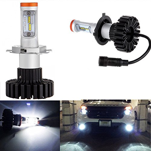 160W 12000LM H11 H8 H9 HID WHITE 6000K LED Headlight Bulbs Lamps